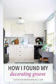 If you've been putting off decorating until you're able to move into your forever home, this post is for you! See how I finally found my decorating groove!