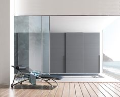 Attrayant Find Out All Of The Information About The Presotto Product: Contemporary  Wardrobe / Lacquered Wood / Leather / Sliding Door MIRROR.