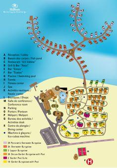 Hilton Moorea Lagoon Resort & Spa property map