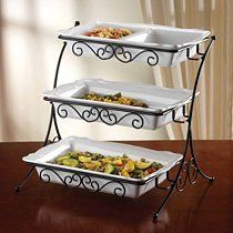 Adjustable Tiered Buffet Server