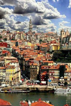 Estas são as cores da minha cidade.   Meu Porto ❤
