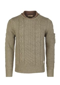 Men's Cable Knit Pullover Knitwear           $38.99