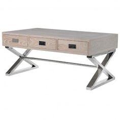 Freya Light Wood Coffee Table