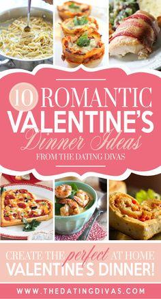 Romantic dinner ideas for Valentine's day