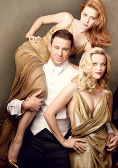 Vanity Fair Magazine's 2015 Hollywood Issue featuring Amy Adams, Reese Witherspoon Channing Tatum ~ Photo by Annie Leibovitz