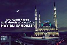🌙Kadir Geceniz Mübarek Olsun Kartları 💚REKLAMSIZ💚 Quran Surah, Allah Islam, Cn Tower, Taj Mahal, Building, Instagram Posts, Travel, Olinda, Pictures