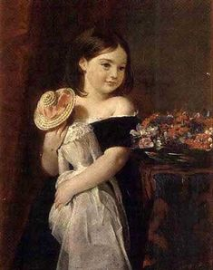 """Attributed to Charles Robert Leslie, """"The Birthday Present"""""""
