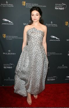 Crystal Reed - golden Globes awards 2014 after party