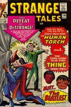 Strange Tales #130. Dr Strange vs Baron Mordo.