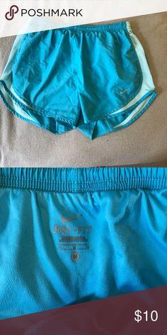Blue Nike Shorts Nike shorts - two shades of blue - size M Nike Shorts