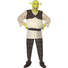 76,99 € IVA incluído http://www.misdisfraces.es/disfraces-y-accesorios-de-peliculas-television-y-famosos-para-carnaval/disfraz-original-de-shrek-licensed-366