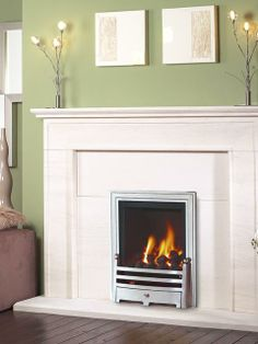 Kinder Kalahari Gas Fire, delivered direct to your door. Fireplace Stores, Gas Pipe, Fire Surround, Genoa, Electric Fireplace, Bauhaus, Hearth, Contemporary, Living Room