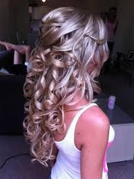 Image result for hair half up half down hairband