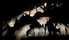 Gruta do Rezar, no Parque Nacional Cavernas do Peruaçu, em Januária, estado de…