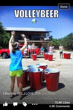 Volleypong!!! A summer have too!!!!