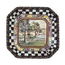 Mackenzie childs plate
