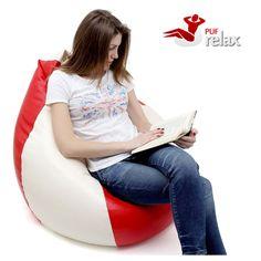 Despre Fotoliile Tip Para umplute cu polistiren PufRelax | TimeZ.ro Bean Bag Chair, Furniture, Home Decor, Decoration Home, Room Decor, Home Furnishings, Bean Bags, Arredamento, Interior Decorating