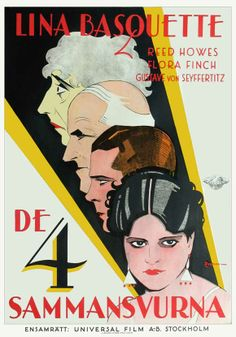 Vintage Movie Poster - 'Come Across' - 1929