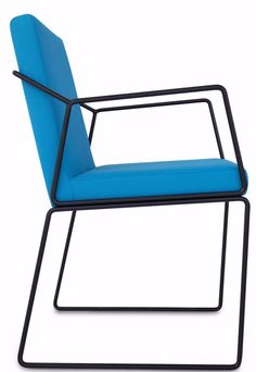 GEMMA #Chair with armrests by @altinox