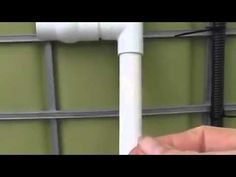 the Best Aquaponic radial flow filter for solids removal top - YouTube
