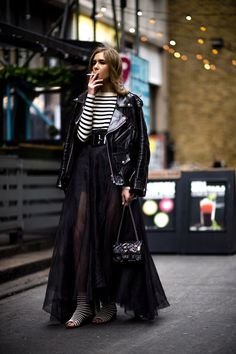 See the coolest women with the strongest style hitting the Autumn Winter presentations and shows in London