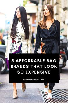 Affordable new bag brands that look so expensive