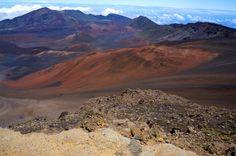 Haleakala volcano on Maui by BottegaDesigns on Etsy
