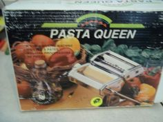 Pasta Queen Noodle Making machine by Marcato NIB Never Used by APassion4Antiques on Etsy