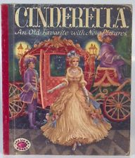 Vintage 1954 Treasure Books Cinderella An Old Favorite With New Pictures