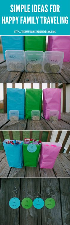 Road trip reward system. Genius. I think this would be a cute idea for chores too.