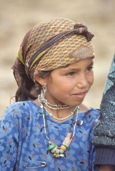 Marroc, Serralada de l'Atlas: Poble Bereber.