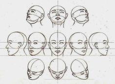A veces cuando la cara no está justo de frente dibujarla resulta algo dificil. Sobre todo si se parte de la nada. Las primeras veces que l...