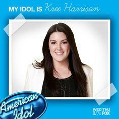 My Idol is Kree Harrison!