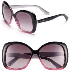 860cb7f9e9fe Jimmy Choo  Marty  57mm Sunglasses available at  Nordstrom Clubmaster  Sunglasses