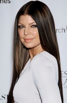 jet black hair with chocolate brown highlights - Google Search
