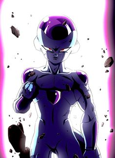 "Frieza Friday Quote of the Day: ""Well, I've got to hand it to you. You're the first one who's ever hurt me besides my loving parents that is. Hm. It's been so long since I felt pain. It's such a strange sensation. What a rare case he is.""-Frieza #SonGokuKakarot"