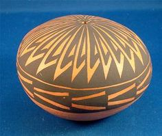 Hand Coiled(verified by our dealer) & Hand Painted Acoma Pottery Seed Pot #4 By Myra Lukee. $39.99 Plus 6.00 Shipping. Just Click on the above picture to be taken to the Ebay listing