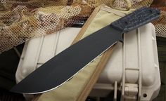 Strider PAB Tactical Machete Fixed Blade Knife - SOLD - Strider Knives. IN STOCK, Super Fast Shipping.