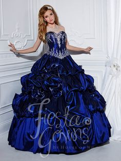 Fiesta Quinceanera Dress by House of Wu Style 56239