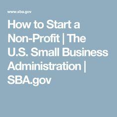 how to start my non profit organization