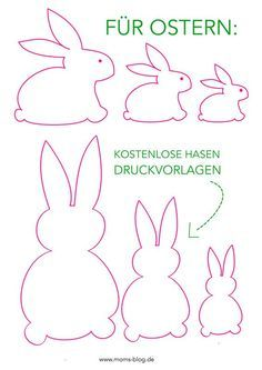 DIY Ostern Free print template for your spring and Easter decorations! Easter Crafts, Felt Crafts, Diy And Crafts, Crafts For Kids, Easter Ideas, Children Crafts, Recycled Crafts, Creative Crafts, Yarn Crafts