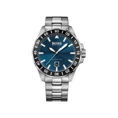 HUGO BOSS - Κοσμηματοπωλείο Θεολόγος Eshop Black Rubber Bands, Hugo Boss Man, Bracelet Watch, Quartz, Watches, Steel, Bracelets, Accessories, Wristwatches