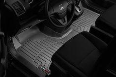 2011-2015 Black WeatherTech Over-The-Hump FloorLiner for Nissan Quest
