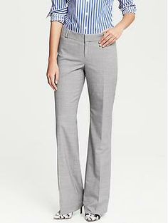 Give the Devil His Due (Part Three of The Devil Series) - Felicity's Outfit - Jackson-Fit Grey Lightweight Wool Trouser | Banana Republic