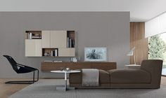 Jesse Open Wall Unit Composition , Wall storage systems, Go Modern Furniture Living Room Wall Units, Living Room Storage, Lounge Design, Floating Wall Unit, Floating Shelves, Living Room Furniture, Modern Furniture, Wall Storage Systems, Modern Wall Units