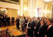 Regierungsumbildung in Griechenland