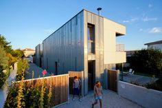 TICA : 2 en 1 - 2 maisons groupées bioclimatiques