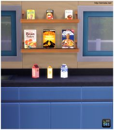 Simista: Kitchen Clutter Breakfast Time • Sims 4 Downloads