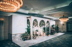 Wedding Backdrop Design, Floral Wedding Decorations, Backdrop Decorations, Backdrops, Bella Wedding, Wedding Fair, Booth Design, Wall Design, Grass Decor