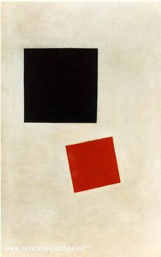 Kazimir Malevich, Black Square and Red Square